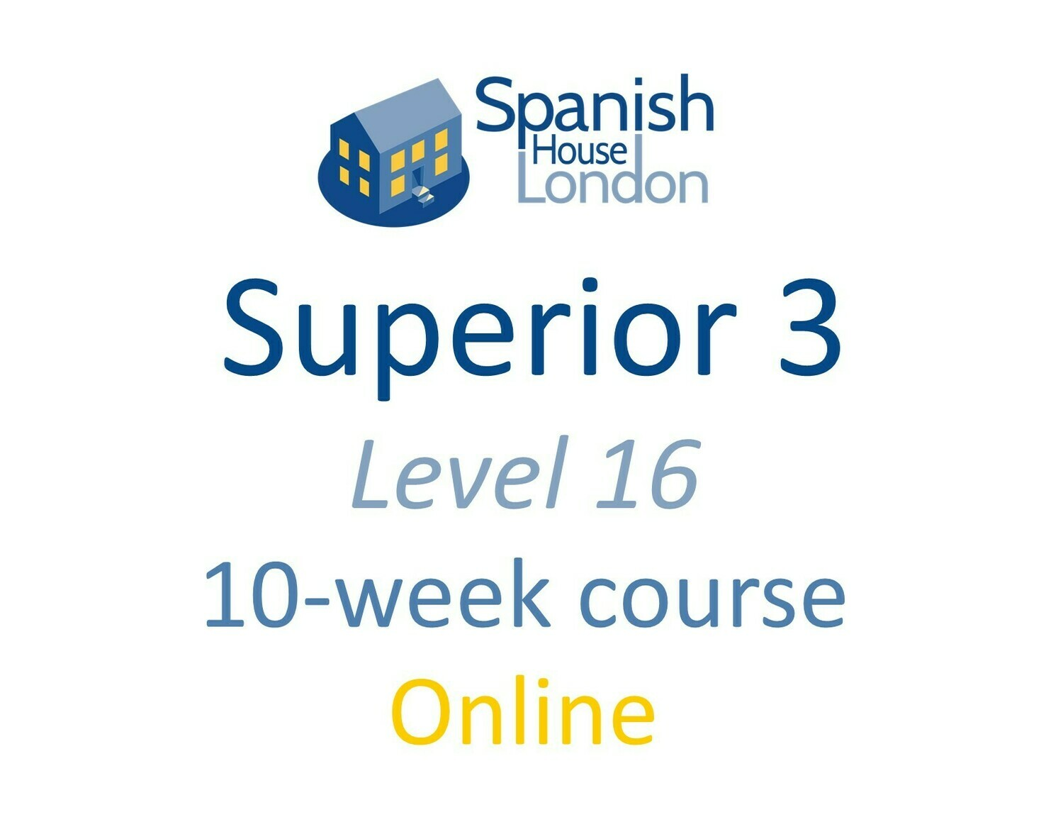 Superior 3 Course starting on 8th June at 7.30pm