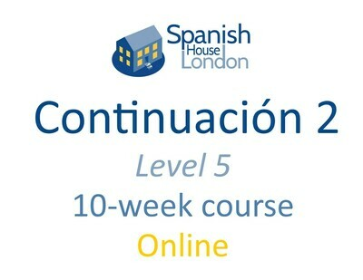 Continuacion 2 Course starting on 4th August at 6pm