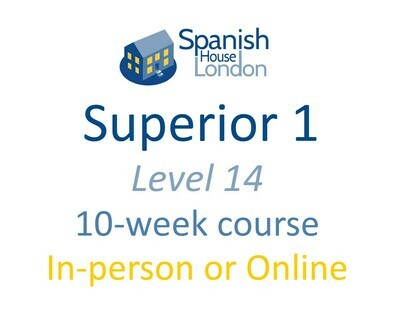 Superior 1 Course starting on 29th June at 7.30pm in Clapham North