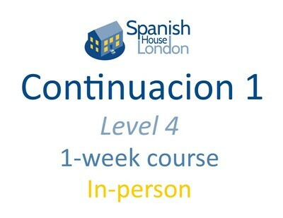 Continuacion 1 Course starting on 2nd September at 7.30pm in Clapham North
