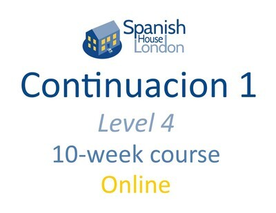 Continuacion 1 Course starting on 17th August at 7.30pm