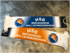 Fan-Schal mit HSG- und UB19-Logo