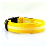 Yellow LED Collar