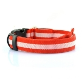 Red LED Collar