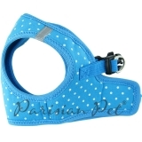 Blue Polka Dot Step-in Harness