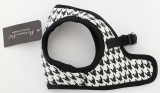 Step-In Harness Houndstooth Black