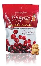 Grandma Lucy's Organic Cranberry Oven Baked Dog Treats