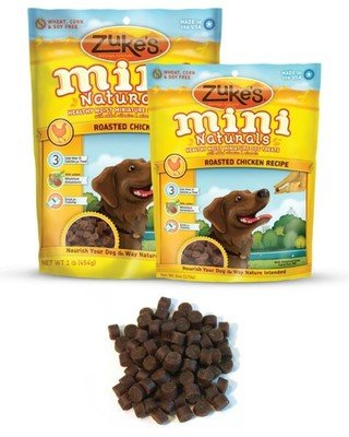Zuke's Mini Naturals Roasted Chicken Recipe Dog Treats