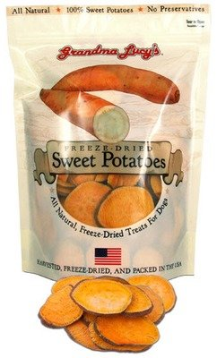 Grandma Lucy's Freeze-Dried Sweet Potatoes Dog Treats