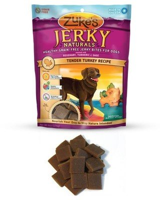 Zuke's Jerky Naturals Tender Turkey Recipe Dog Treats