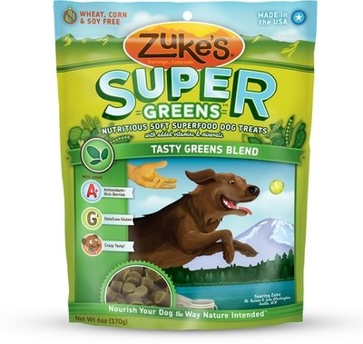 Zuke's Super Tasty Greens Blend Dog Treats