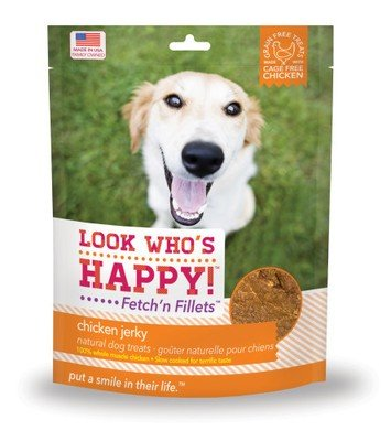 Look Who's Happy Chicken Jerky Fetch'n Fillets