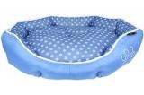 Blue Polka Dot Waterproof Bed