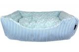 Blue Malibu Striped Bed