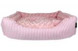 Pink Malibu Striped Bed