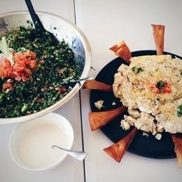 Lebanese Cooking Class - MOAI collaboration - 13th of June