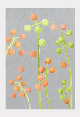 Art Print:  Brunia on Grey