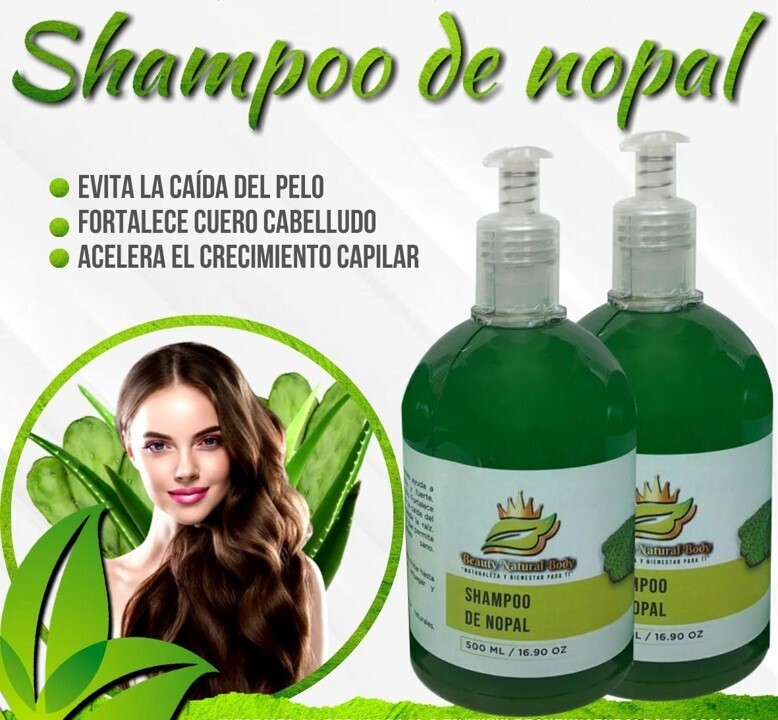 Shampoo extractos naturales