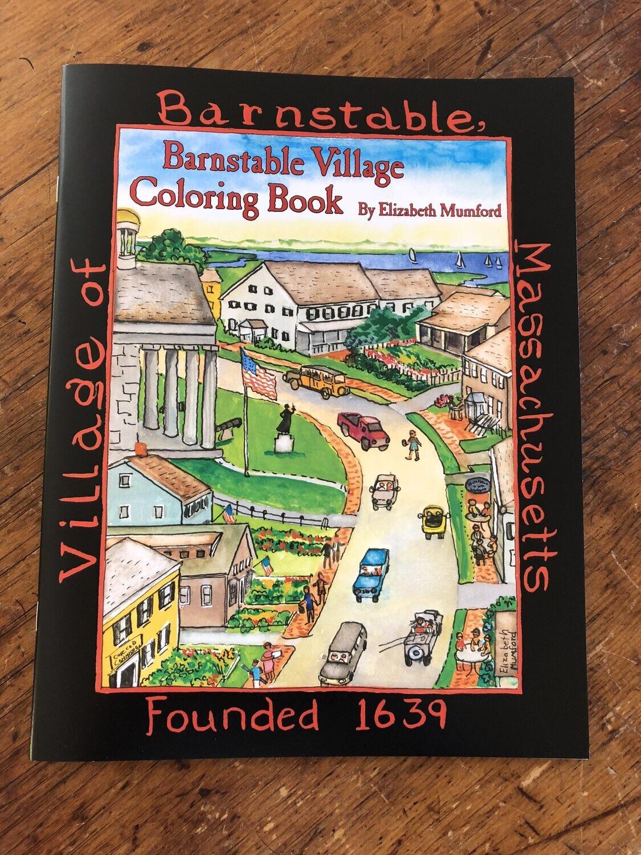 Barnstable Village Coloring Book