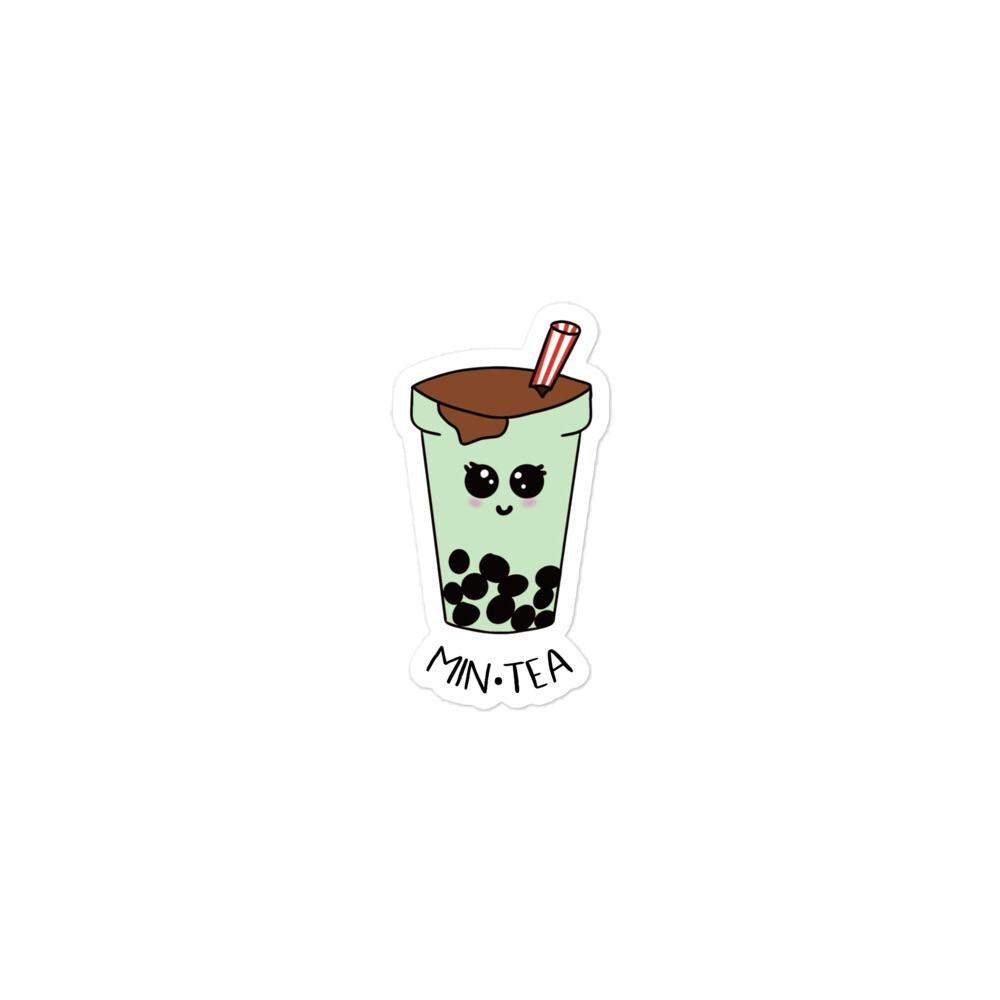 Min•tea Boba Baby Stickers