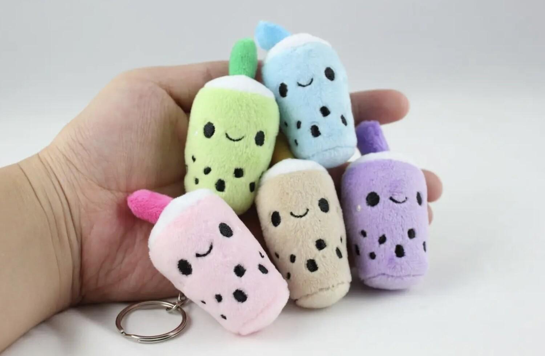 Boba Baby Plush Keychain