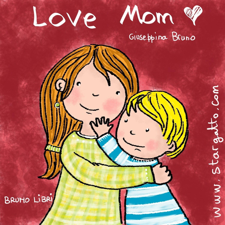 Love Mom (colouring book)