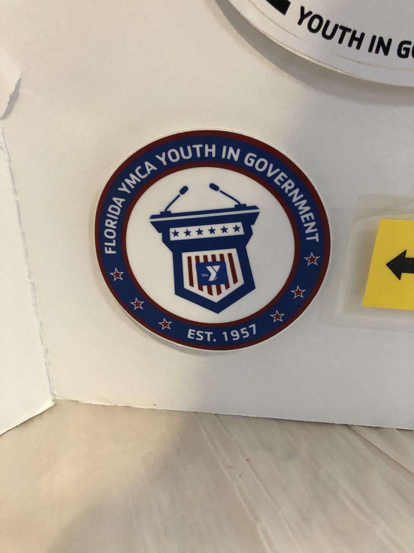 Circle Podium Sticker