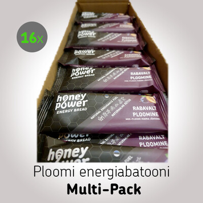 Ploomi energiabatooni Multi-Pack (16x40g)