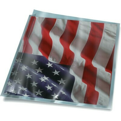 Print File FF34 FoldFlap 3 mil Polyester 3-5/8x4-1/2 Sleeves 3-5/8x4-1/2 Pack of 50 with Case qty of 500