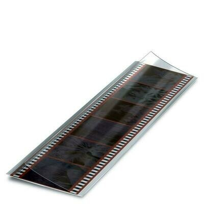 Print File FF35 FoldFlap 3 mil Polyester 35mm Sleeves 35mm(6 Frames) Pack of 50 with Case qty of 500