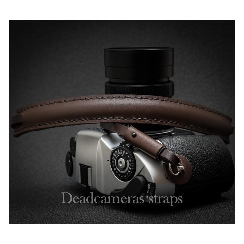 DEADCAMERAS Brown Shoulder Strap