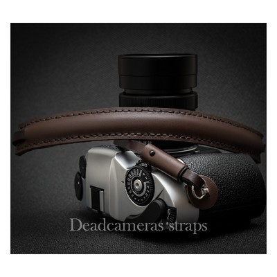 DEADCAMERAS Brown Shoulder Strap