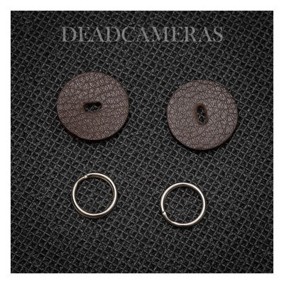 DEADCAMERAS Leather Protection Disks Small