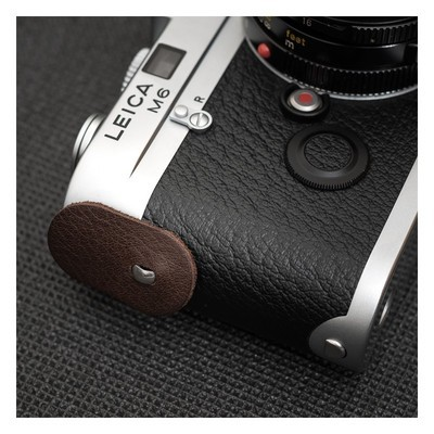 DEADCAMERAS Elongated Leather Protection Disks