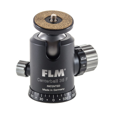 FLM CB-38FTR/QRS-50 Professional Ball Head CB-38FTR with Professional Quick Release QRS-50 Set