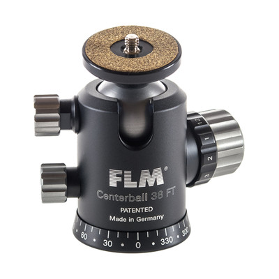 FLM CB-38FT Professional Ball Head 38mm with Friction, Memory Lock, Pan and Tilt Lock