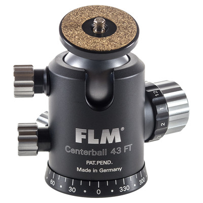 FLM CB-43FTR/QRS-50 Professional Ball Head CB-43FTR with Professional Quick Release QRS-50 Set
