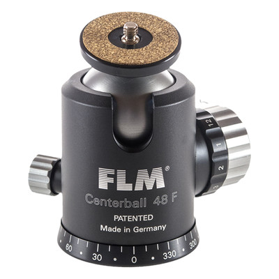 FLM CB-48F Professional Ball Head 48mm with Friction, Memory Lock, Pan and Tilt Lock