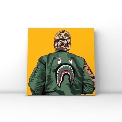A Bathing Ape / BAPE brand art