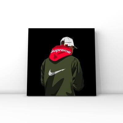 Nike & Supreme brand art