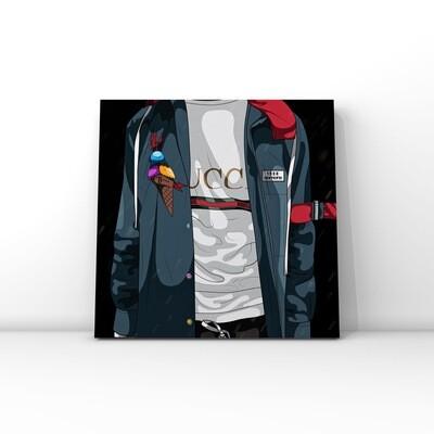 GUCCI brand art