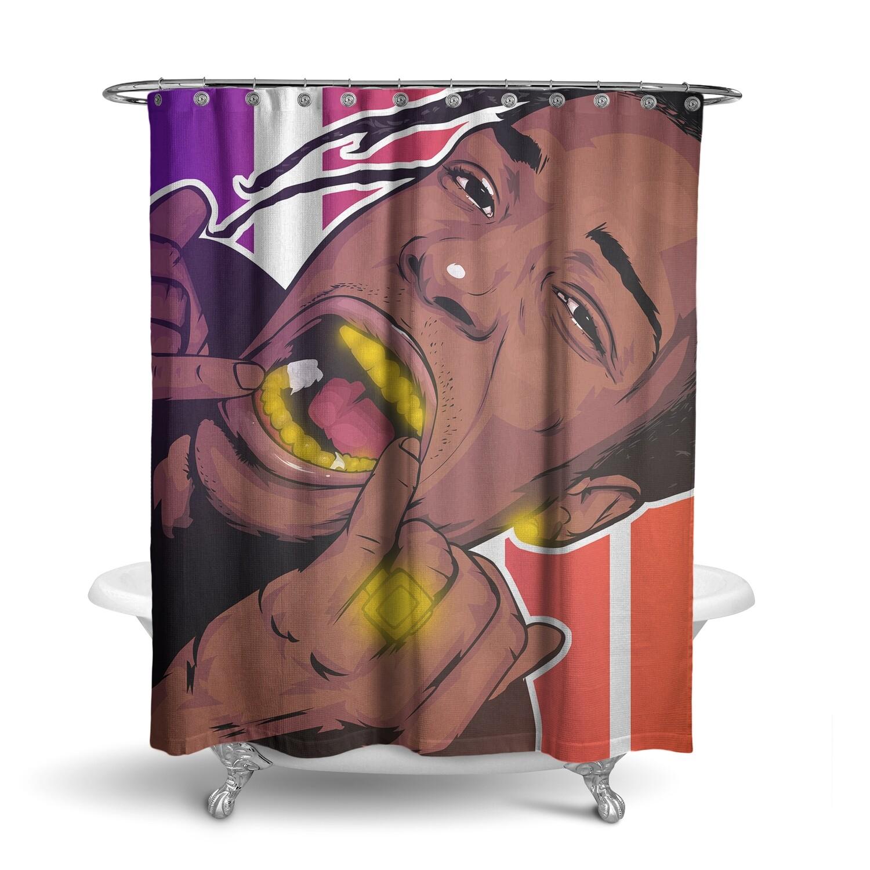 «ASAP Rocky / A$AP MOB» штора для ванной