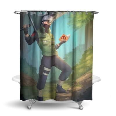 «Наруто» штора для ванной
