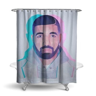 «Drake / Дрейк» штора для ванной