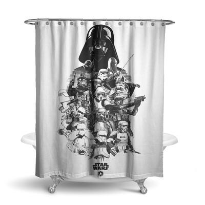 «Звездные Войны» штора для ванной