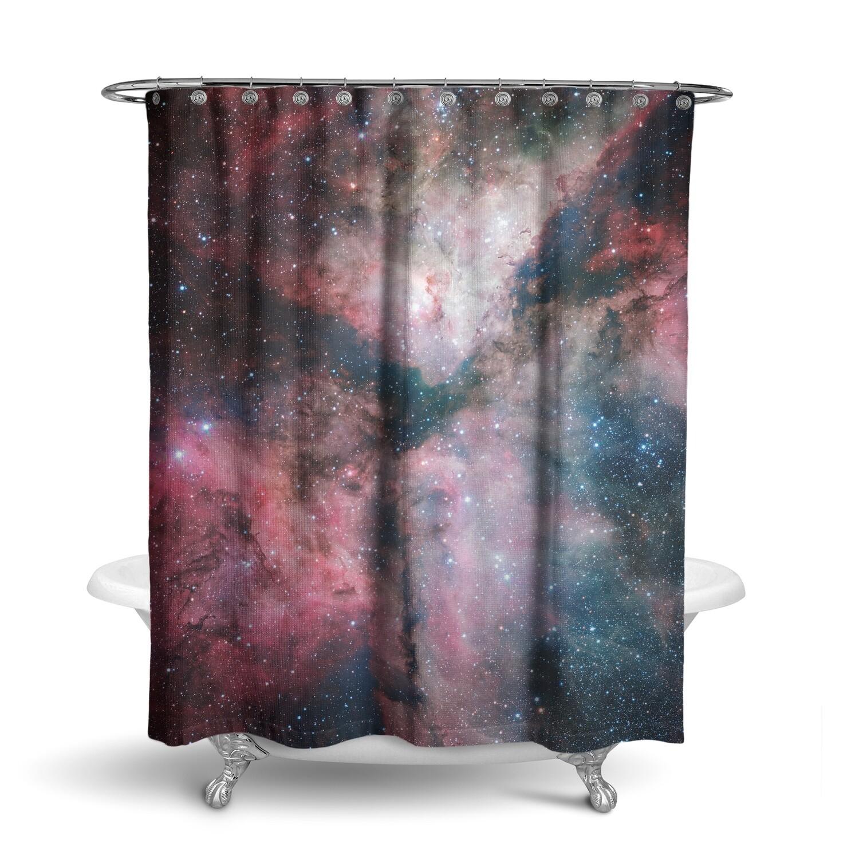 «Космос» штора для ванной