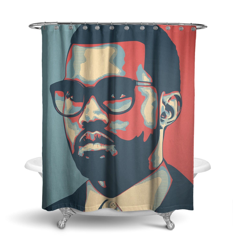 «Канье Уэст / Kanye West» штора для ванной