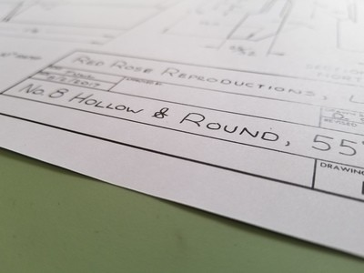 #8 hollow and round plans