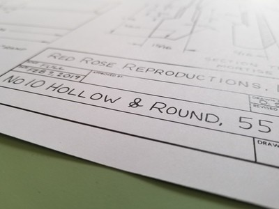 #10 hollow and round plans