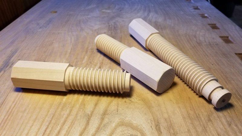Acer-Ferrous Milkman's bench screws